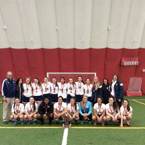 Sr Girls 2016 and 2015 Indoor Champions