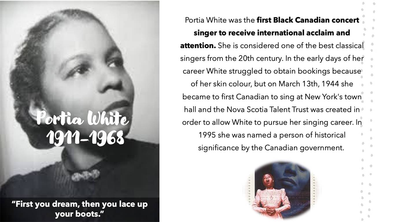 SMAC celebrates the contributions of outstanding Black Canadians!